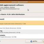 AVANZAMENTO  VERSIONE DI UBUNTU 9.04 > 9.10